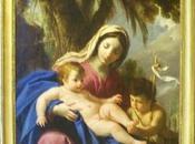 Vierge l'enfant Jésus avec saint Jean Baptiste