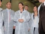 Martine Aubry, visite seinomarine pour l'industrie