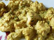 Poulet beurre cacahuète lait coco, sauce Satay