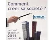agenda Conférence Création d'entreprise janvier Epitech Strasbourg