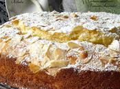 Gâteau moelleux pommes amandes