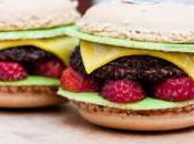 Fond d'écran Bijoux Sucrés Macaron Hamburger