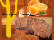 Filet porc l'orange