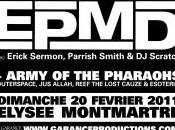 EPMD ARMY PHARAOHS Concert Elysée Montmartre Paris