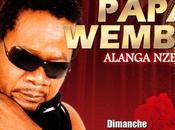 Papa Wemba Nyoka Longo fêtent ensemble leur carrière