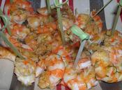 Crevettes pimentées