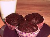 Muffins chocolat-banane ★^-^★