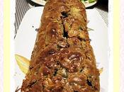 Cake tomates séchées, olive noire anchois