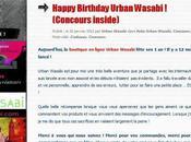 Résultats concours Urban Wasabi