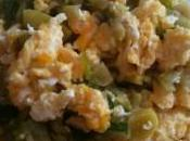 Omelette poireaux courgette d'Hanane