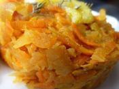 Chou rave carottes gingembre citrons confits