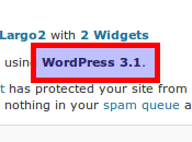 Mise jour vers WordPress