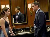 Matt Damon Retour baiser bizarre avec Emily Blunt