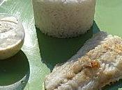Filets merlan crème moutardée