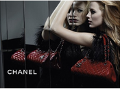 "première photo Blake Lively pour campagne sacs main ""Mademoiselle Chanel"""