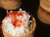 Bouchees crabe paprika