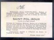 Bernard Barral rend hommage Saint-Pol-Roux
