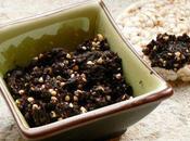 Tartinade minceur olives graines sarrasin