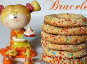 """Biscuits bracelets très """"girly"""" amandes pour Pourim"""
