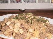 Poêlée tofu steack haché façon risotto Delices Cookie's