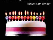 Twitter 5ème anniversaire