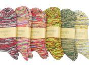 Nepenthes purple label 2011 melange socks