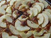 Tartes fines pommes confiture lait