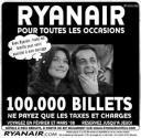 Sarkozy-Bruni Ryanair propose 5.000 euros
