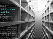 L'objet littérature aujourd'hui. Tertulia d'écrivains-chercheurs. Vendredi mars librairie.