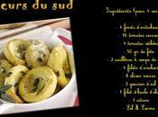 """Recette """"Verrines artichaut, tomates, feta, câpres anchois"""""""