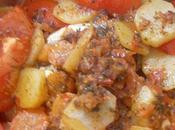 Tagine sardines légumes