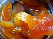 Confiture d'orange, papaye citron gingembre