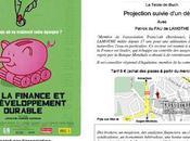 Ecologie débat Moi, finance développement durable, cinéma Grand Écran