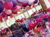 Deco mariage violette