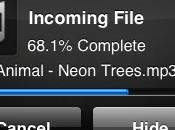 Transférer fichiers bluetooth