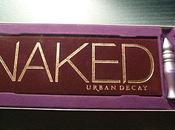 Interlude maquillage: Naked d'Urban Decay