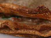 Galette sarrasin fourrée épinards jambon (sans gluten)