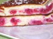 Tarte fromage blanc framboises Sarazin