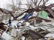 tornade dévaste ville Mapleton