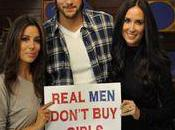 Demi Moore Ashton Kutcher rentrent guerre contre Prostitution Enfantine