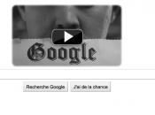 Google souhaite anniversaire charlie chaplin