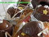 Oeufs Pâques chocolat