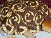 Tortue... gâteau vanille-chocolat