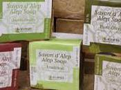 savon d'Alep traditionnel antiseptique doux naturel