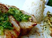 Filet mignon japonaise, Shichimi Chimichurri