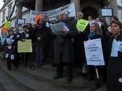 Manifestations contre carte judiciaire