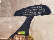 Guerilla marketing contre déforestation Brésil