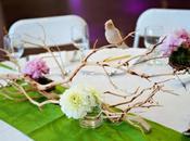 Decoration mariage theme oiseau