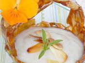 Mousse sirop d'érable dans coupelle nougatine