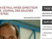Contribution Paul Ariès (directeur Sarkophage, journal gauches antiproductivistes)